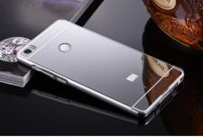 Металлический бампер для Xiaomi Mi Max с зеркальной вставкой