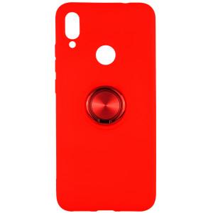 TPU чехол Summer ColorRing под магнитный держатель  для Xiaomi Redmi Note 7 (Pro) / Note 7s
