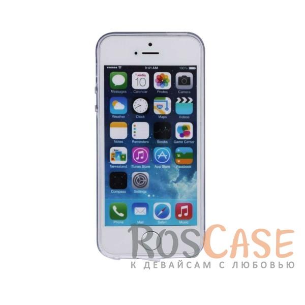 """Фотография Силиконовый чехол """"Чакра"""" для Apple iPhone 5/5S/SE (+Заглушка)"""