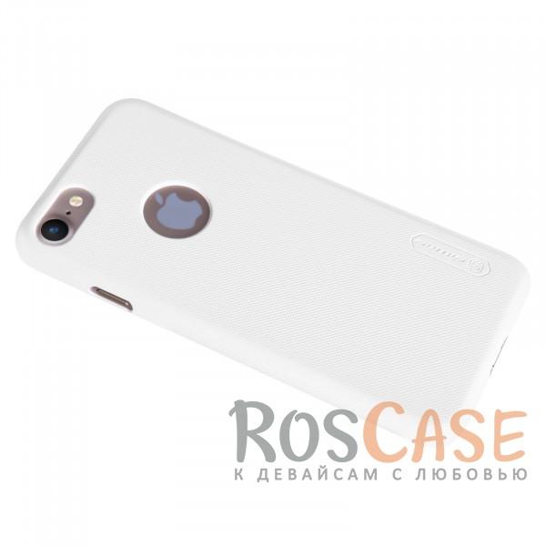 "Фото Белый Nillkin Super Frosted Shield | Матовый чехол для Apple iPhone 7 (4.7"") (+ пленка)"