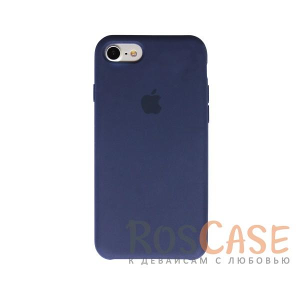Оригинальный силиконовый чехол для Apple iPhone 7 (4.7) (Темно-синий)Описание:материал - силикон;совместим с Apple iPhone 7 (4.7);тип чехла - накладка.<br><br>Тип: Чехол<br>Бренд: Epik<br>Материал: Силикон
