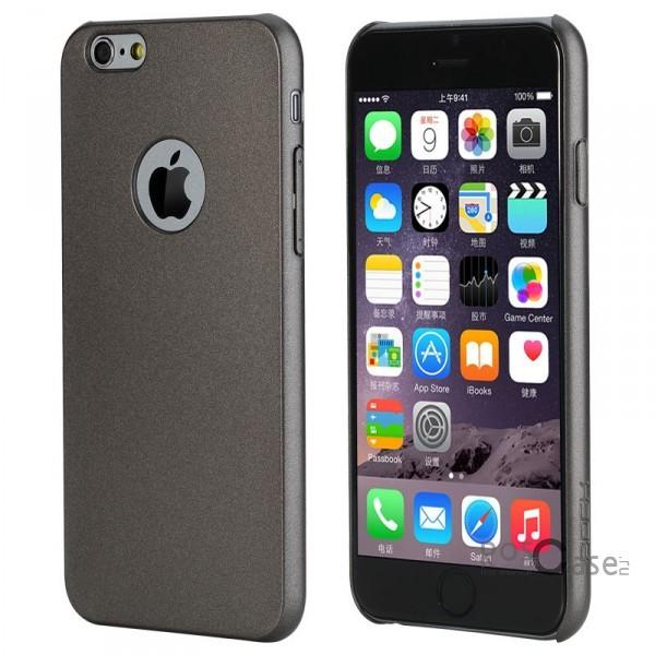 Пластиковая накладка Rock Glory Series для Apple iPhone 6/6s plus (5.5) (Серый / Grey)Описание:производитель  -  Rock;совместимость: Apple iPhone 6/6s plus (5.5);материал  -  поликарбонат;тип  -  накладка.&amp;nbsp;Особенности:соответствие всех вырезов функциям;прозрачный;не трескается;надежная система крепления;на нем не видны отпечатки пальцев;яркие цвета.<br><br>Тип: Чехол<br>Бренд: ROCK<br>Материал: Пластик