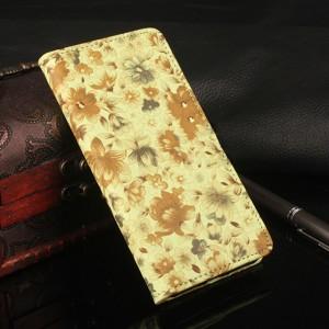 Чехол-кошелёк с цветочным рисунком и функцией подставки для Xiaomi Redmi Note 4X (MediaTek)
