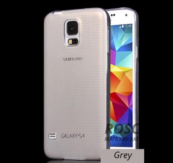 TPU чехол Ultrathin Series 0,33mm для Samsung G900 Galaxy S5 (Серый (прозрачный))Описание:изготовлен компанией&amp;nbsp;Epik;разработан для Samsung G900 Galaxy S5;материал: термополиуретан;тип: накладка.&amp;nbsp;Особенности:толщина накладки - 0,33 мм;прозрачный;эластичный;надежно фиксируется;есть все функциональные вырезы.<br><br>Тип: Чехол<br>Бренд: Epik<br>Материал: TPU