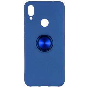 TPU чехол Summer ColorRing под магнитный держатель для Xiaomi Redmi Note 7 /Note 7 Pro / Note 7s