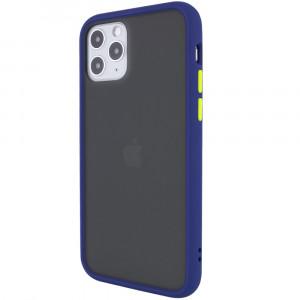 Противоударный матовый полупрозрачный чехол  для iPhone 12 Pro Max
