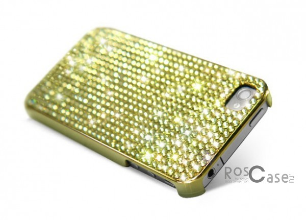 Накладка Dreamplus Eileen Lovely 2 (Swarovski Cut Crystals) для Apple iPhone 4/4S (+ пленка)