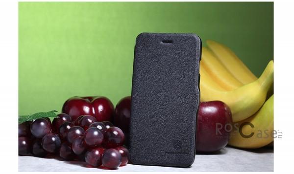 Кожаный чехол (книжка) Nillkin Fresh Series для Apple iPhone 6/6s (4.7)  (Черный)Описание:Изготовлен компанией&amp;nbsp;Nillkin;Спроектирован персонально для Apple iPhone 6/6s (4.7);Материал: синтетическая высококачественная кожа и полиуретан;Форма: чехол в виде книжки.Особенности:Исключается появление царапин и возникновение потертостей;Восхитительная амортизация при любом ударе;Фактурная поверхность;Магнитная застежка;Не подвержен деформации;Непритязателен в уходе.<br><br>Тип: Чехол<br>Бренд: Nillkin<br>Материал: Искусственная кожа