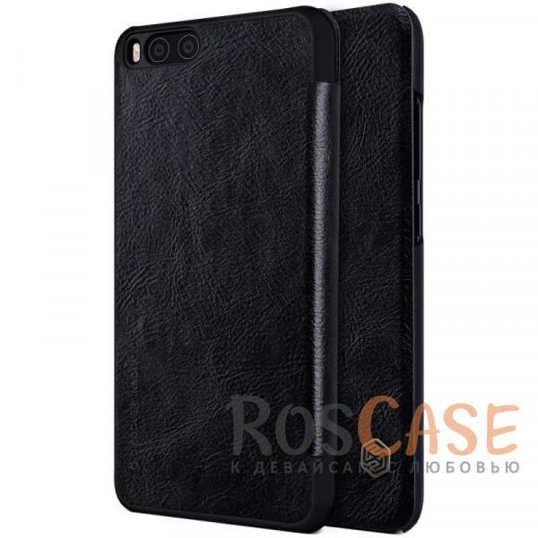 Чехол-книжка из натуральной кожи для Xiaomi Mi 6 (Черный)Описание:бренд&amp;nbsp;Nillkin;разработан для Xiaomi Mi 6;материалы: натуральная кожа, поликарбонат;защищает гаджет со всех сторон;на аксессуаре не заметны отпечатки пальцев;карман для визиток и пластиковых карт;предусмотрены все необходимые функциональные вырезы;тонкий дизайн не увеличивает габариты девайса;тип: чехол-книжка.<br><br>Тип: Чехол<br>Бренд: Nillkin<br>Материал: Натуральная кожа