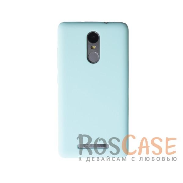 Пластиковая накладка soft-touch с защитой торцов Joyroom для Xiaomi Redmi Note 3/Redmi Note 3 Pro (Мятный)<br><br>Тип: Чехол<br>Бренд: Epik<br>Материал: Пластик