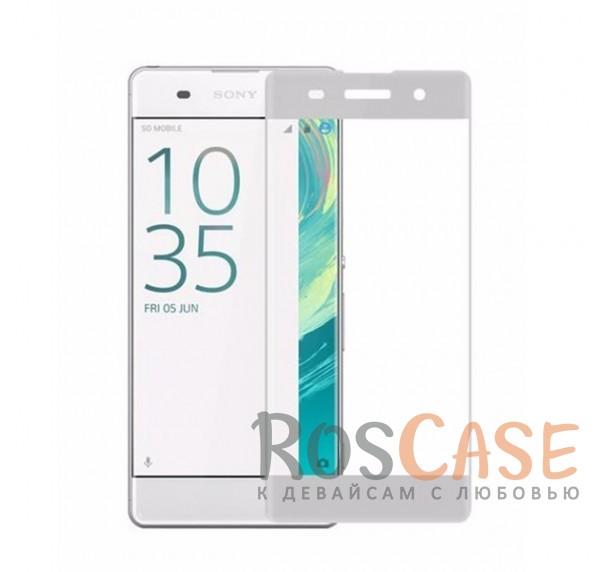 Защитное стекло 3D CaseGuru Tempered Glass для Sony Xperia XA / XA Dual (Белое)<br><br>Тип: Защитное стекло<br>Бренд: CaseGuru