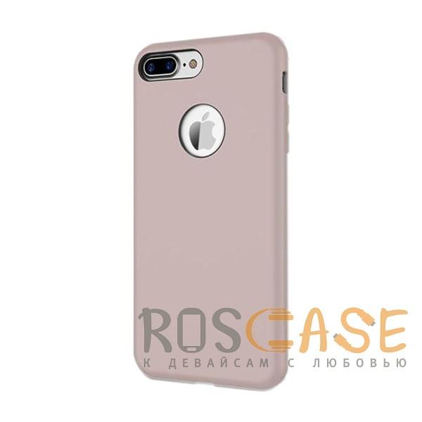 """Фото Сиреневый / Light purple Rock Silicon   Ультратонкий чехол для Apple iPhone 7 plus / 8 plus (5.5"""") из силикона"""