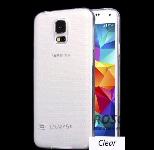TPU чехол Ultrathin Series 0,33mm для Samsung G900 Galaxy S5 (Бесцветный (прозрачный))Описание:изготовлен компанией&amp;nbsp;Epik;разработан для Samsung G900 Galaxy S5;материал: термополиуретан;тип: накладка.&amp;nbsp;Особенности:толщина накладки - 0,33 мм;прозрачный;эластичный;надежно фиксируется;есть все функциональные вырезы.<br><br>Тип: Чехол<br>Бренд: Epik<br>Материал: TPU