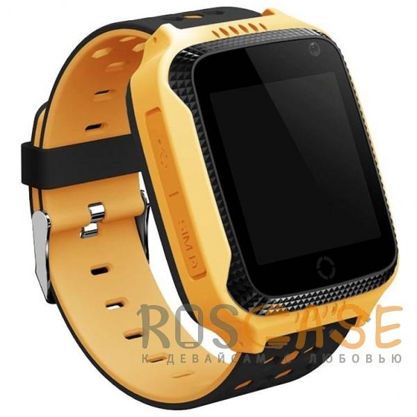 Фото Желтый Умные детские часы Smart Baby Watch T7