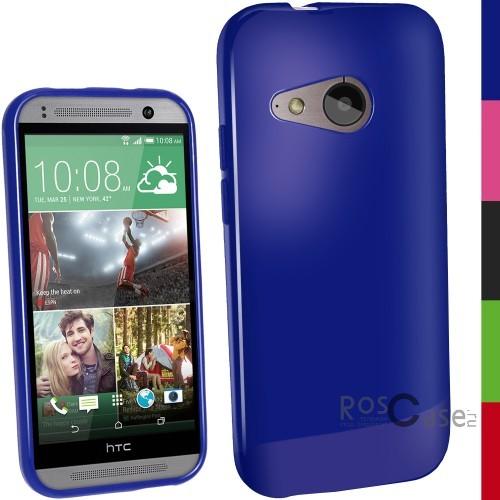 TPU чехол Epik для HTC One mini 2 (Синий (soft touch))Описание:разработчик и производитель Epik;изготовлен из термополиуретана;фактура гладкая;тип конструкции: накладка;совместим с HTC One mini 2.&amp;nbsp;Особенности:широкая палитра цветов;эксклюзивный дизайн;прочный и износостойкий;ультратонкий;надежная фиксация;легкая очистка.&amp;nbsp;<br><br>Тип: Чехол<br>Бренд: Epik<br>Материал: TPU