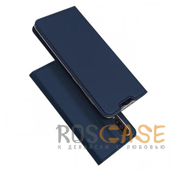 Фото Синий Чехол-книжка Dux Ducis с карманом для визиток для Samsung Galaxy A70 (A705F)