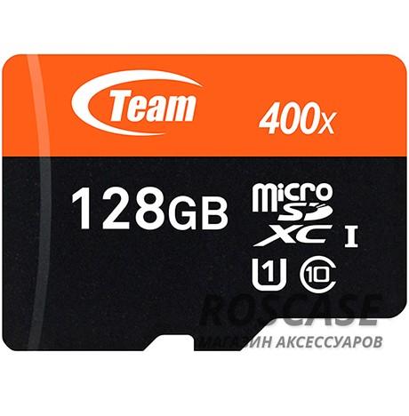 Фото Карта памяти Team microSDXC UHS-1 128 GB Class 10 + SD adapter