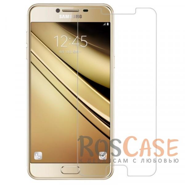 Защитное стекло CaseGuru Tempered Glass 0.33mm (2.5D) для Samsung Galaxy C5<br><br>Тип: Защитное стекло<br>Бренд: CaseGuru