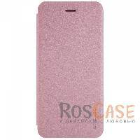фото Rose Gold Кожаный чехол (книжка) Nillkin Sparkle Series для Apple iPhone 7 plus (5.5