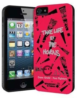 #Чехол Premium Gel Shell (Dave Grohl - Foo Fighters) для Apple iPhone 5/5S