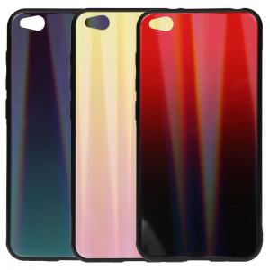 TPU+Glass чехол Gradient Aurora  для Xiaomi Redmi Go