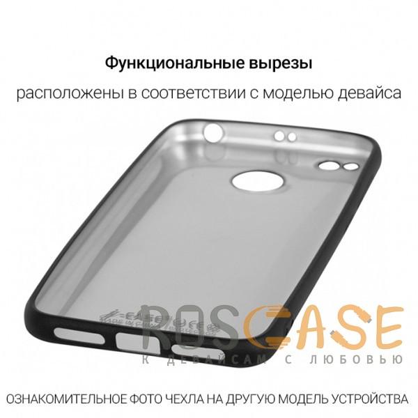 Фотография Черный J-Case THIN | Гибкий силиконовый чехол для Huawei P10 Lite