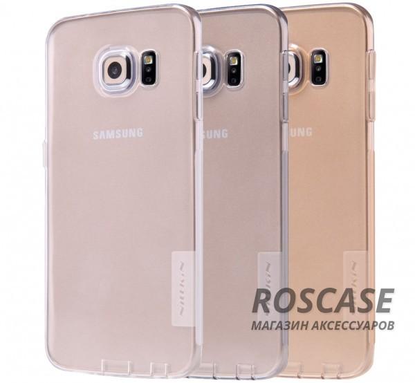 TPU чехол Nillkin Nature Series для Samsung G925F Galaxy S6 EdgeОписание:производитель  -  бренд&amp;nbsp;Nillkin;совместим с Samsung G925F Galaxy S6 Edge;материал  -  термополиуретан;тип  -  накладка.&amp;nbsp;Особенности:в наличии все вырезы;не скользит в руках;тонкий дизайн;защита от ударов и царапин;прозрачный.<br><br>Тип: Чехол<br>Бренд: Nillkin<br>Материал: TPU