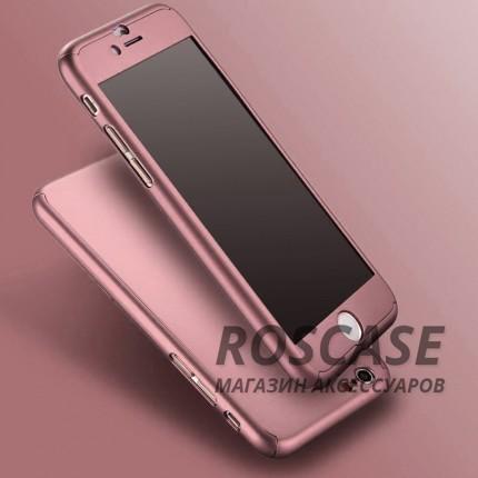 Чехол iPaky 360 градусов для Apple iPhone 6/6s plus (5.5) (+ стекло на экран) (Rose Gold)Описание:производитель: iPaky;совместимость: смартфон Apple iPhone 6/6s plus (5.5);материал: пластик;форм-фактор: накладка.Особенности:надежная система фиксации;сохраняет все первоначальные характеристики;не деформируется;легко очищается.<br><br>Тип: Чехол<br>Бренд: Epik<br>Материал: Пластик