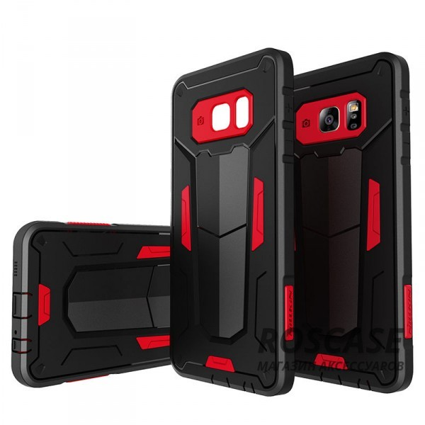 TPU+PC чехол Nillkin Defender 2 для Samsung Galaxy S6 Edge Plus (Красный)Описание:производитель  - &amp;nbsp;Nillkin;совместим с Samsung Galaxy S6 Edge Plus;материал  -  термополиуретан, поликарбонат;тип  -  накладка.&amp;nbsp;Особенности:в наличии все вырезы;противоударный;стильный дизайн;надежно фиксируется;защита от повреждений.<br><br>Тип: Чехол<br>Бренд: Nillkin<br>Материал: TPU