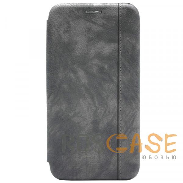 Фото Серый Open Color 2   Чехол-книжка на магните для Samsung Galaxy Note 10 Plus с подставкой и карманом