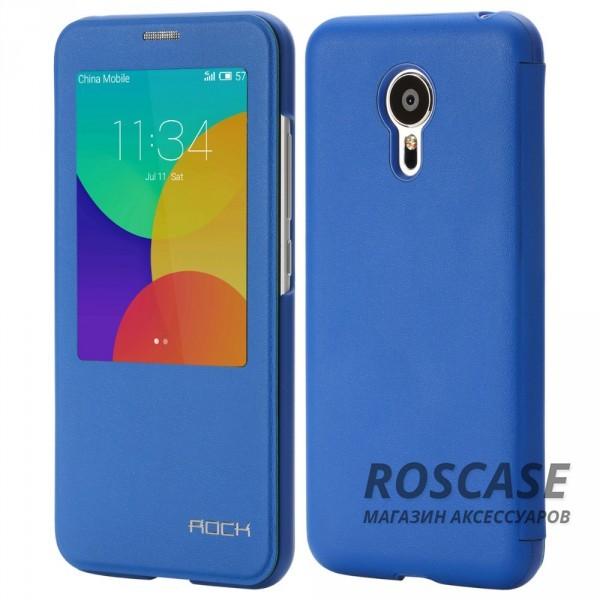 Чехол (книжка) Rock Touch series для Meizu MX5 (Синий / Blue)Описание:производитель -&amp;nbsp;ROCK;совместим с Meizu MX5;материал: искусственная кожа;тип: чехол-книжка.Особенности:все функциональные вырезы в наличии;функция Smart window;функция Sleep mode;защита от механических повреждений;матовый;не скользит в руках.<br><br>Тип: Чехол<br>Бренд: ROCK<br>Материал: Искусственная кожа