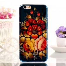"фото TPU чехол IMD Print ""Blooming Flowers"" для Apple iPhone 6 (4.7"")"