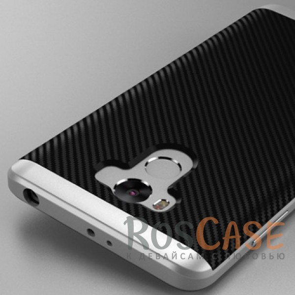 Чехол iPaky TPU+PC для Xiaomi Redmi 4 Pro / Redmi 4 Prime (Черный / Серебряный)Описание:производитель - iPaky;разработан для Xiaomi Redmi 4 Pro / Redmi 4 Prime;материал: термополиуретан, поликарбонат;форма: накладка на заднюю панель.Особенности:эластичный;рельефная поверхность;прочная окантовка;ультратонкий;надежная фиксация.<br><br>Тип: Чехол<br>Бренд: Epik<br>Материал: TPU
