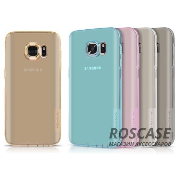 TPU чехол Nillkin Nature Series для Samsung G930F Galaxy S7Описание:производитель  -  бренд&amp;nbsp;Nillkin;совместим с Samsung G930F Galaxy S7;материал  -  термополиуретан;тип  -  накладка.&amp;nbsp;Особенности:в наличии все вырезы;не скользит в руках;тонкий дизайн;защита от ударов и царапин;прозрачный.<br><br>Тип: Чехол<br>Бренд: Nillkin<br>Материал: TPU