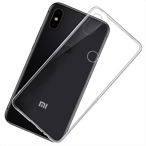 Прозрачный силиконовый чехол для Xiaomi Mi A2 Lite / Redmi 6 Pro