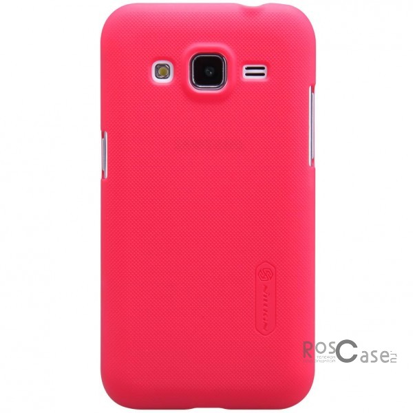 Чехол Nillkin Matte для Samsung G360H/G361H Galaxy Core Prime Duos (+ пленка) (Красный)Описание:Чехол изготовлен компанией&amp;nbsp;Nillkin;Спроектирован для Samsung G360H/G361H Galaxy Core Prime Duos;Материал  -  поликарбонат;Форма  -  накладка.Особенности:Исключено появление потертостей и возникновение царапин;В комплекте поставляется глянцевая бесцветная пленка;Имеет текстурную матовую поверхность;Выполнен в изысканном классическом стиле.<br><br>Тип: Чехол<br>Бренд: Nillkin<br>Материал: Поликарбонат