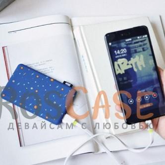 Дополнительный внешний аккумулятор со скругленными краями (Tola T-1) 10000mAh (1 USB 1A) (Галактика)<br><br>Тип: Внешний аккумулятор<br>Бренд: Epik
