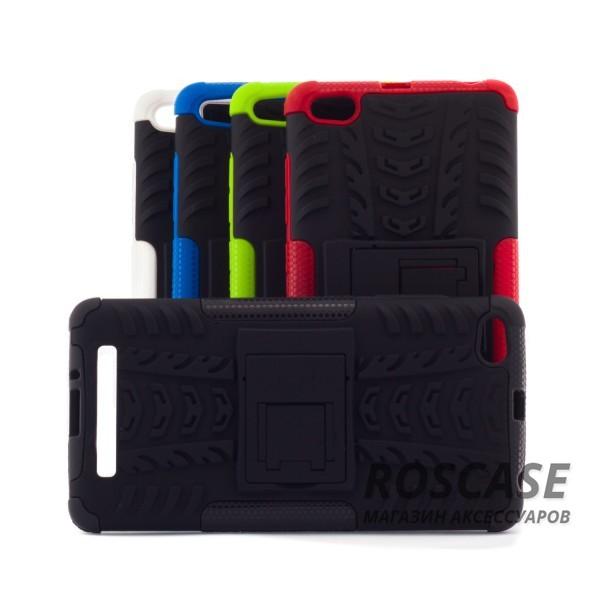 Противоударный двухслойный чехол Shield для Xiaomi Redmi 3 с подставкойОписание: совместимость: Xiaomi Redmi 3;форм-фактор: накладка;материал: термополиуретан, поликарбонат.Преимущества:устойчив к повреждениям;не скользит в руках;имеет функцию подставки;эргономичный;легко очищается;надежная фиксация;анти-отпечатки.<br><br>Тип: Чехол<br>Бренд: Epik<br>Материал: TPU