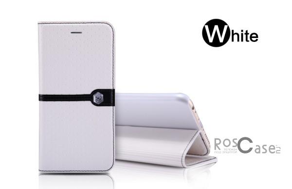 Кожаный чехол (книжка) Nillkin Ice Series для Apple iPhone 6/6s (4.7) (+ пленка) (Белый)Описание:разработка и производство компании&amp;nbsp;Nillkin;совместим с Apple iPhone 6/6s (4.7);изготовлен из искусственной кожи и полиуретана;гладкая поверхность;тип конструкции  -  чехол-книжка;&amp;nbsp;Особенности:внутренняя часть отделана микрофиброй;ультратонкий;пленка в комплекте;транформируется в подставку;насыщенная цветовая палитра;повышенная износоустойчивость.<br><br>Тип: Чехол<br>Бренд: Nillkin<br>Материал: Искусственная кожа