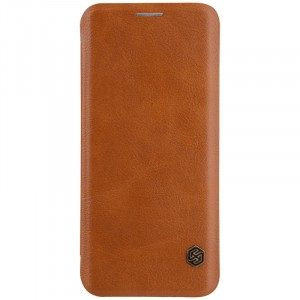 Nillkin Qin натур. кожа | Чехол-книжка для Samsung Galaxy S9