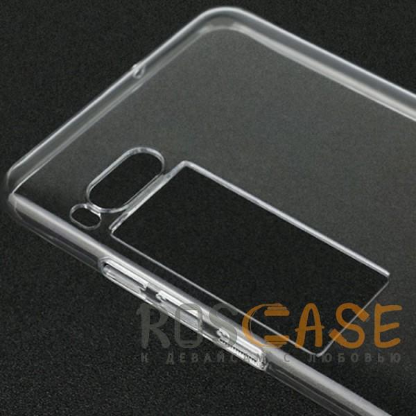 Фотография Бесцветный (прозрачный) Ультратонкий силиконовый чехол для Meizu Pro 7