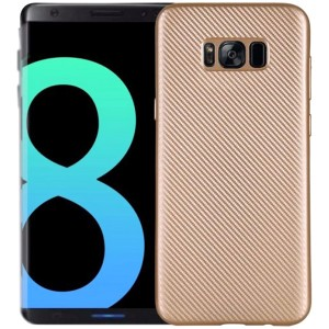 Матовый чехол для Samsung G950 Galaxy S8 с текстурированной поверхностью под карбон