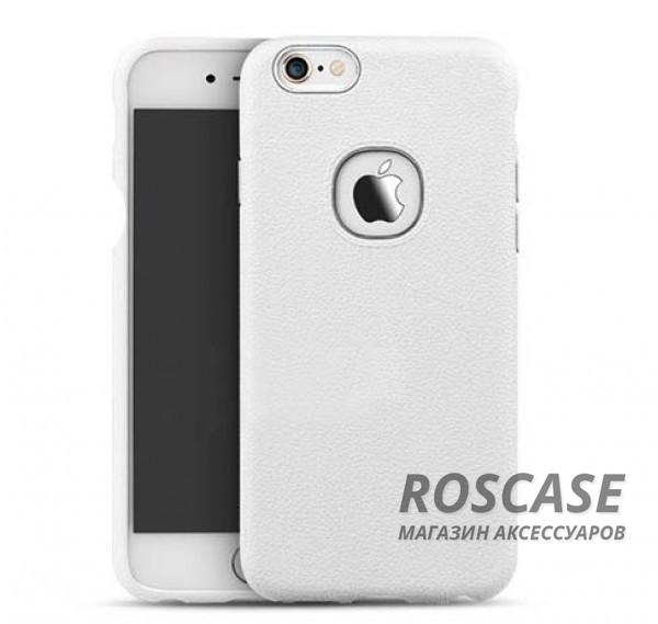 Силиконовая накладка iPaky с имитацией кожи для Apple iPhone 6/6s (4.7) (Белый)Описание:компания-разработчик: iPaky;совместимость с устройством модели: Apple iPhone 6/6s (4.7);материал изделия: силикон;конфигурация: накладка.Особенности:элегантный дизайн;высокий класс прочности и износоустойчивости;легко и надежно фиксируется на смартфоне;имеет все необходимые функциональные вырезы.<br><br>Тип: Чехол<br>Бренд: Epik<br>Материал: TPU