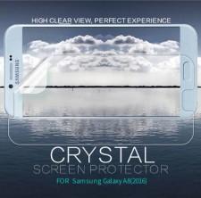 Nillkin Crystal | Прозрачная защитная пленка  для Samsung Galaxy A8 2016 (A810F)