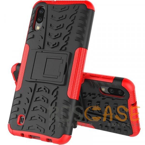Изображение Красный Shield | Противоударный чехол для Galaxy A20 / A30 / A50 с подставкой