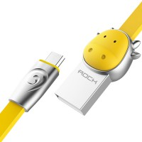 фотография Cow-Yellow (Cow-Yellow цвет) Кабель ROCK MicroUSB (Chinese Zodiac) 1m