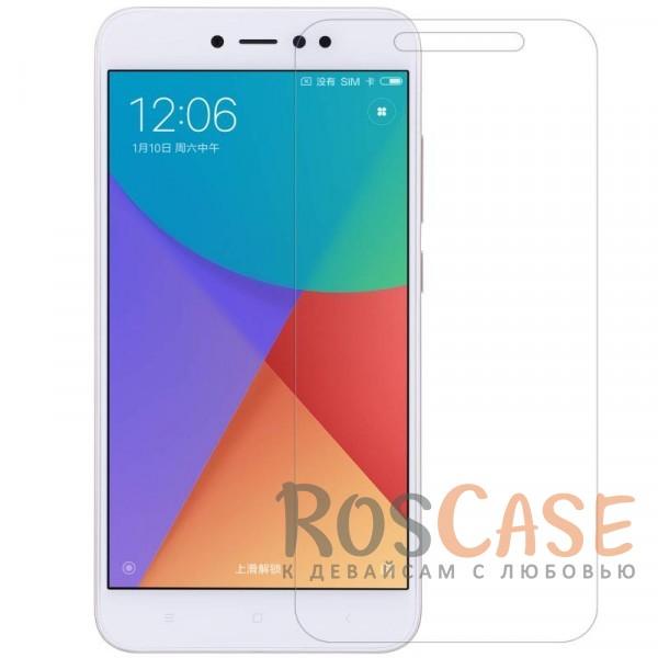 Прозрачная глянцевая защитная пленка Nillkin на экран с гладким пылеотталкивающим покрытием для Xiaomi Redmi Note 5A Prime / Redmi  Y1 (Анти-отпечатки)Описание:бренд&amp;nbsp;Nillkin;совместимость - Xiaomi Redmi Note 5A Prime / Redmi  Y1;материал: полимер;тип: прозрачная пленка;ультратонкая;не влияет на чувствительность экрана;защита от царапин и потертостей;фильтрует УФ-излучение;размер пленки - 146,7*69,5 мм.<br><br>Тип: Защитная пленка<br>Бренд: Nillkin