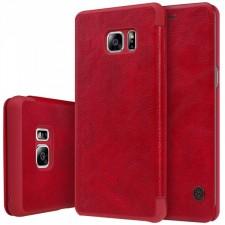 Nillkin Qin натур. кожа | Чехол-книжка  для Samsung N930F Galaxy Note 7 Duos