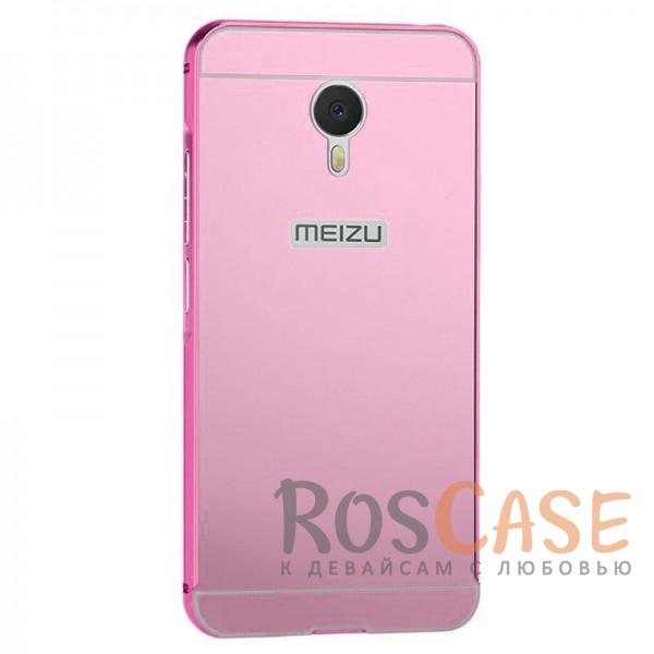 Металлический бампер с акриловой вставкой для Meizu M3 Note (Розовый)Описание:совместимость  -  Meizu M3 Note;материал  -  металл, акрил;форм-фактор  -  накладка.Особенности:надежная фиксация;сохраняет первоначальный вид;не подвергается деформации;имеет все функциональные вырезы;не скользит в руках.<br><br>Тип: Чехол<br>Бренд: Epik<br>Материал: Металл