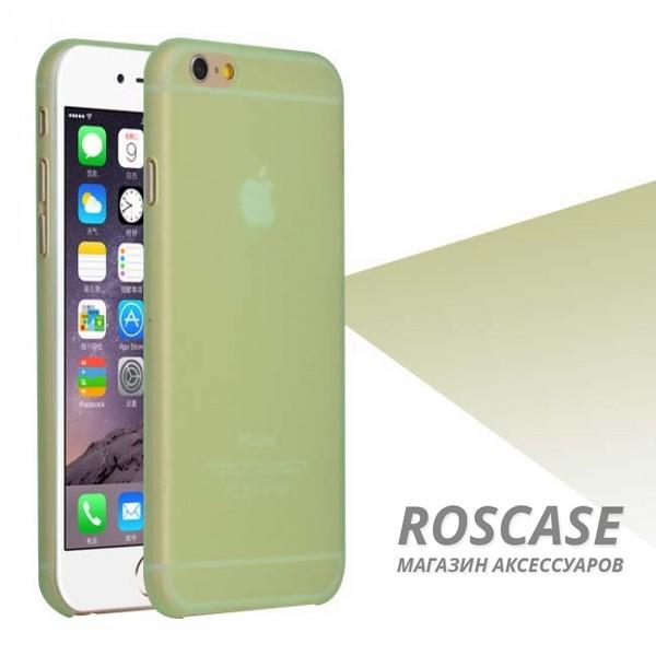 Пластиковая накладка Ultrathin 0.3mm для Apple iPhone 6/6s (4.7) (Лайм (матовый))Описание:компания разработчик: Epik;совместимость с устройством модели: Apple iPhone 6/6s (4.7);материал изделия: пластик;конфигурация: чехол в виде накладки.Особенности:элегантный дизайн;высокий класс износоустойчивости и прочности;не увеличивает объем смартфона;простая установка и надежная фиксация;имеет все необходимые функциональные вырезы.<br><br>Тип: Чехол<br>Бренд: Epik<br>Материал: TPU